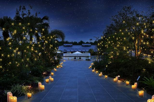 """シーガイアの""""星降るガーデン""""で冬のリゾートステイを楽しむ。大切な人と特別な時間を♡"""
