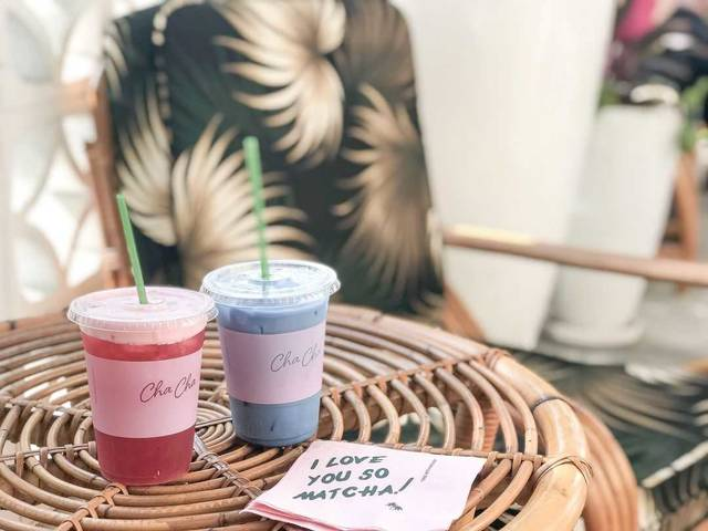 NYで人気の抹茶カフェがLAにもオープン!目印はピンクのパラソル!