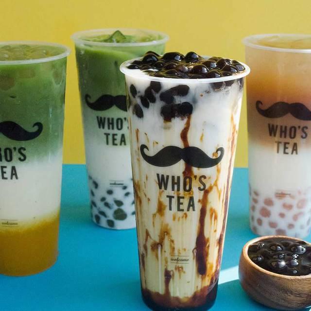 作りたて生タピオカ♡台湾発のタピオカ専門店「WHO'S TEA」が日本にやってきた