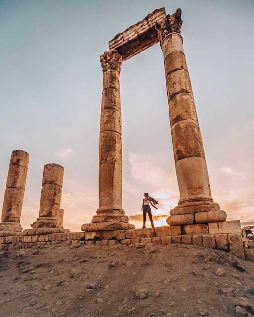 【THE GENIC Vol.321】ポスター撮影を気取ってヨルダンはヘラクレス神殿へ!
