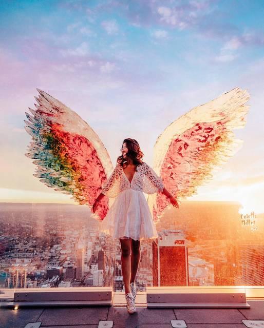 "【THE GENIC Vol.327】世界中に描かれた""天使の羽""まとめ!"