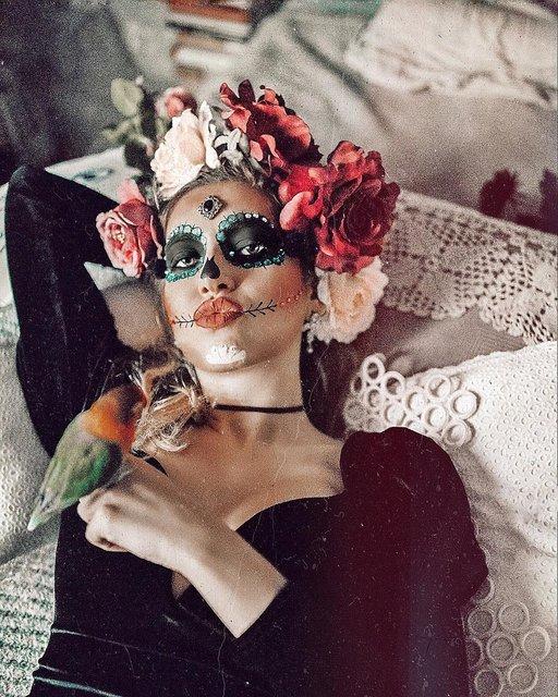 ハロウィン仮装は激カワなシュガースカルが推し!