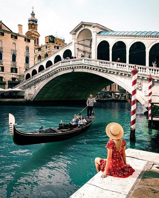 ヴェネツィアのアイコン!「ゴンドラ」に会いたい♡