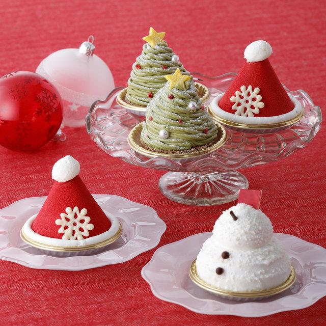 パティスリー キハチの新作!おひとりさまサイズのクリスマスケーキがかわいい♡