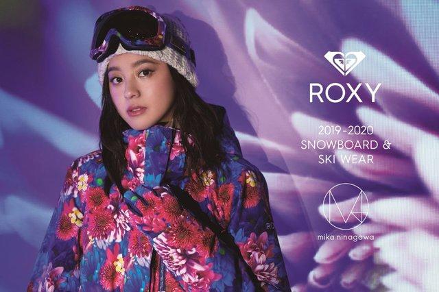 ROXY × M / mika ninagawaがカラフルなスノーウェアを発売!