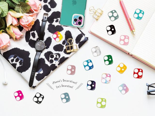 iPhoneケースとおしゃれコーデ♡カメラ周りをデコれるi's Deco発売!