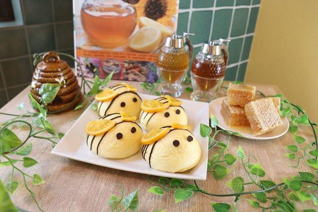 クリームパン専門店キンイロの新作は期間限定♡キュートなミツバチ&はんなり和風クリームパンを召し上がれ!