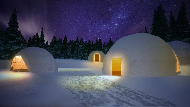 長野で新たな雪体験!幻想的な冬景色を見ながらポカポカ鍋はいかが?