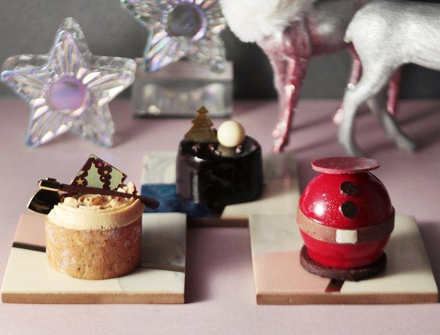 予約なしでも買える!キュートなおひとりさまサイズのクリスマスケーキが人気♡