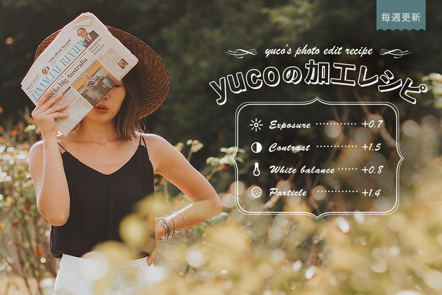 連載コラム【yucoの加工レシピ】