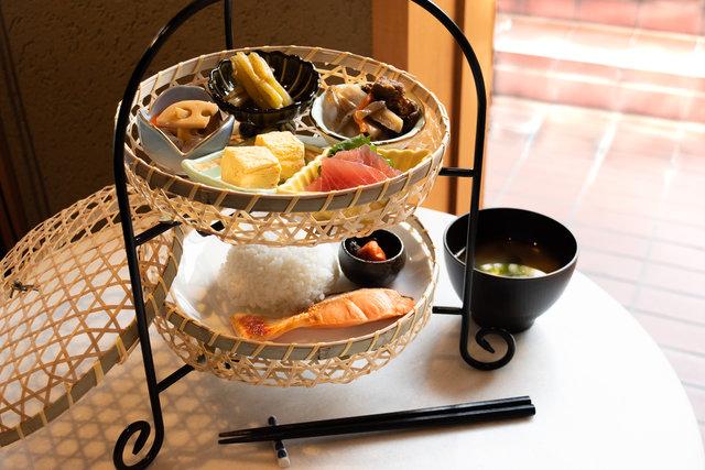和風でおしゃれ♡まるでアフタヌーンティーのような朝食を!