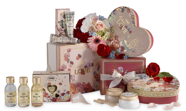 SABONから、気分を盛り上げるバレンタインコフレが数量限定で登場!