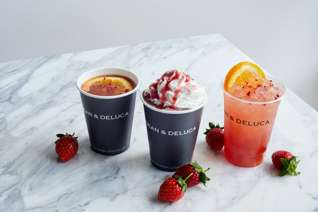 DEAN & DELUCAのSEASONAL DRINK♡苺とチョコレートで温まる、冬のスイートドリンク