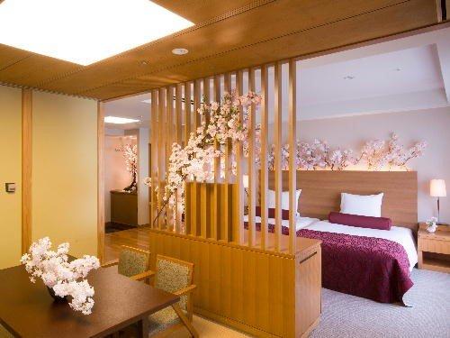 海外や女性に人気!ホテルオークラ神戸のお花見気分スイートルーム♡