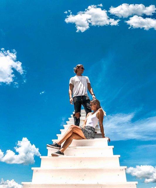 天国への階段をベトナムのダラットに発見!