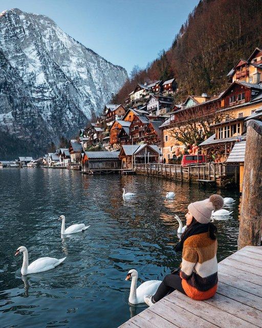 世界で最も美しい湖畔の町「ハルシュタット」