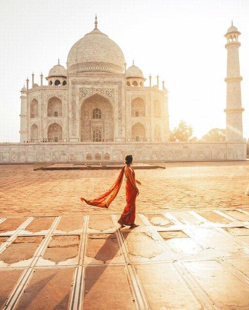 愛する人のために建てられたインドの世界遺産タージ・マハル