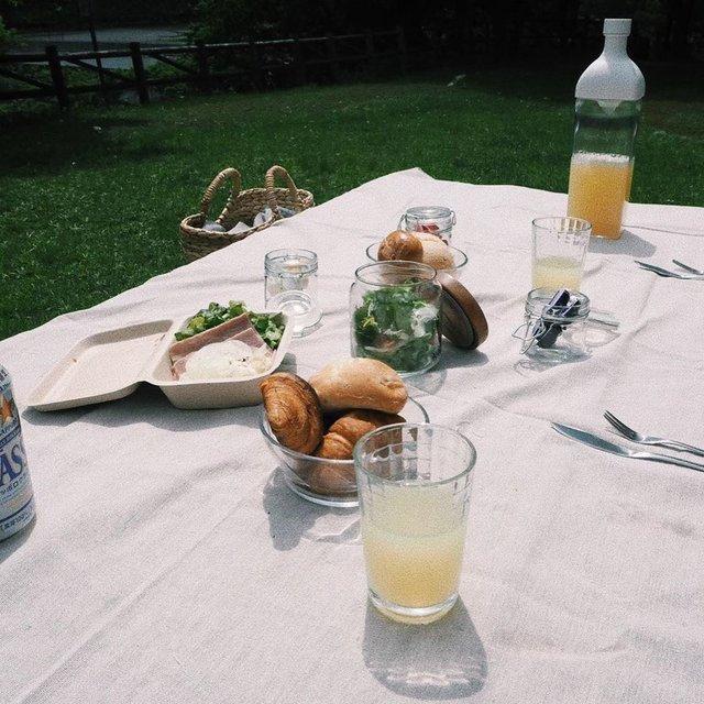 【龍崎翔子のクリップボード Vol.28】旅先でのピクニック