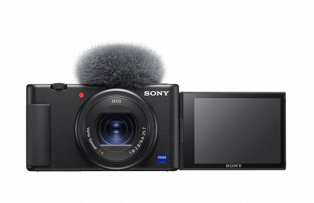 Vlog撮影に特化!デジタルカメラ『VLOGCAM™ ZV-1』がSonyから登場