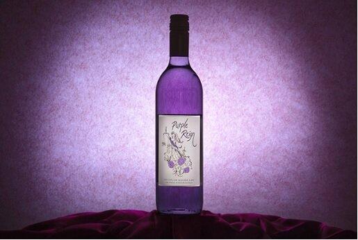 世界初!美しすぎる神秘の紫色のワインがヴィレヴァン オンライン店に登場