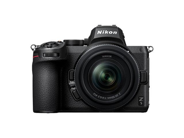 シャッターチャンスを逃したくないクリエイターにぴったり!フルサイズミラーレスカメラ「Nikon Z 5」発売!