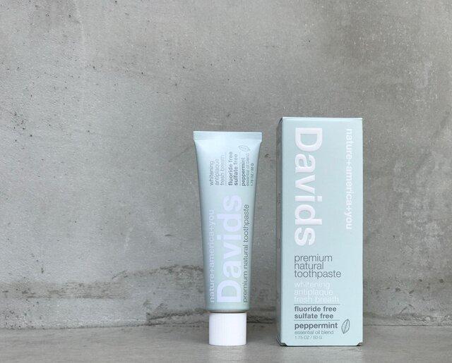 100%天然由来のホワイトニング歯みがき粉「Davids」から、持ち運びに便利なサイズが登場!