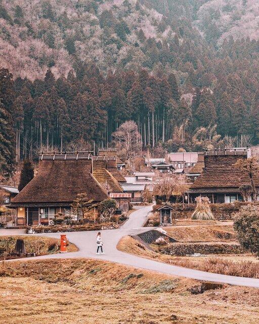 京都・美山「かやぶきの里」で古き良きニッポンを感じて