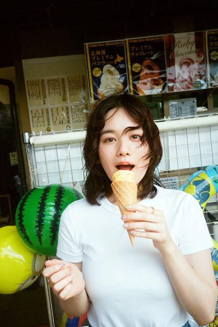 モーガン茉愛羅が撮る筧美和子「幼なじみの再会」Midsummer Ice cream