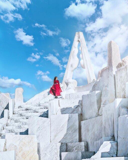 耕三寺博物館の人気観光スポット!大理石の庭園「未来心の丘」