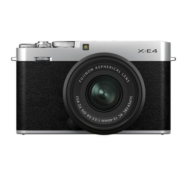 フィルムの色味も表現可能!高画質な写真が撮れるカメラ「FUJIFILM X-E4」新登場