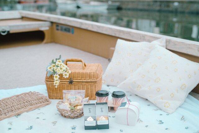 お舟の上でピクニックを楽しめる「柳川藩主立花邸 御花」の宿泊プラン