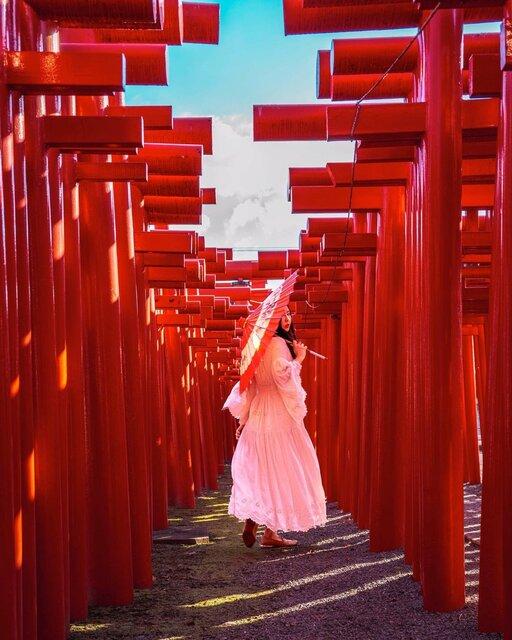 ずらりと立ち並ぶ鳥居がインパクト大!群馬を訪れたなら「小泉稲荷神社」へ