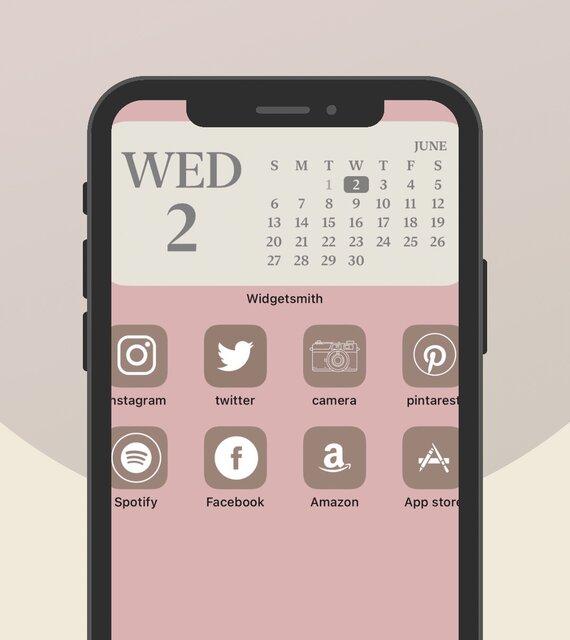 iPhoneホーム画面とロック画面のおしゃれでシンプルな壁紙の探し方/yucoの加工レシピ Vol.55