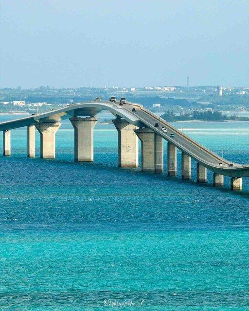 宮古ブルーが広がる「伊良部大橋」で絶景を堪能