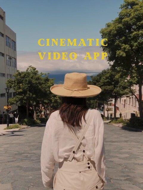 どんなシーンも一瞬でドラマティックに♡映画のような動画を撮れるアプリ「24FPS」/yucoの加工レシピ Vol.58