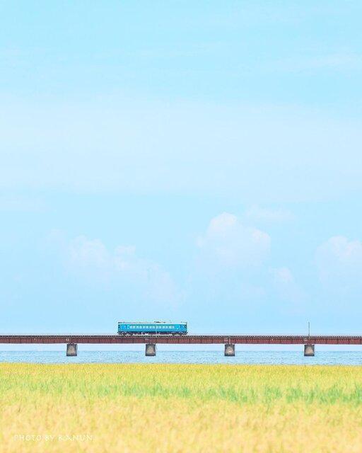 """""""海の京都""""で見る絶景「由良川橋梁」と「京都丹後鉄道」"""