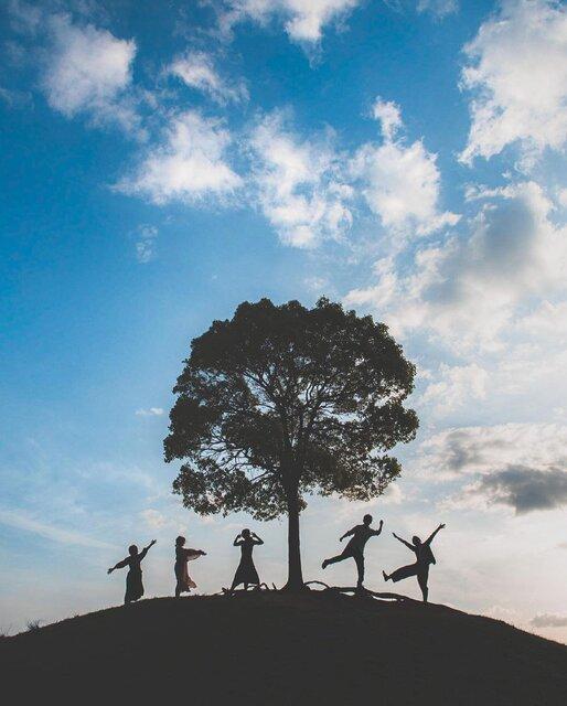 「大高緑地公園」に佇む1本の木の下へ。大切な人たちと一緒に