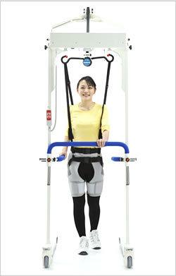 歩行訓練に最適 免荷式リハビリリフト2機種発売 モリトー