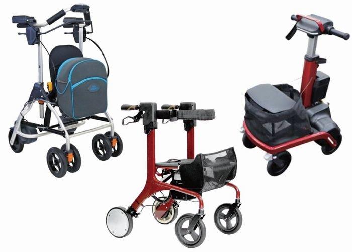 モーター付き歩行器 16年度介護保険レンタル対象に