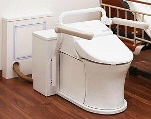 ポータブルトイレ市場 安定推移 介護ロボ一翼としても脚光