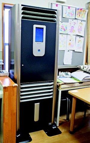 空気清浄機で感染症・食中毒予防