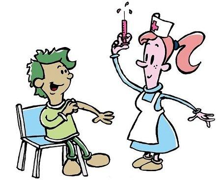 予防接種をした1歳児は