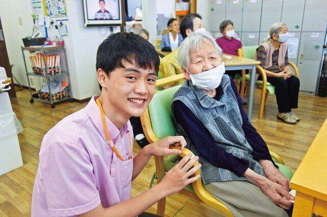 15歳の高校生アルバイト/デイサービスセンタープエンテ(越谷市)