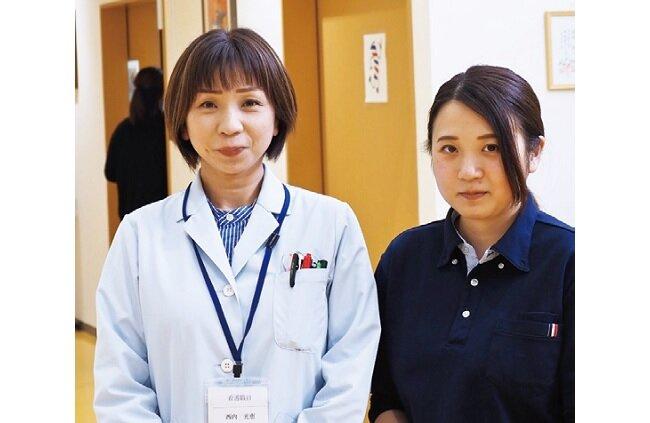 被災地で働き続ける看護師の母と介護福祉士の娘