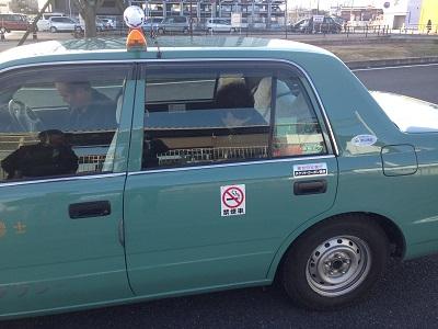 GPSのおかげでタクシー乗車中に保護(実際の写真)