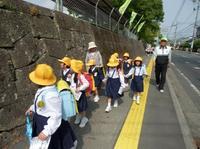 地域の小学生の送迎に利用者を 連れていくこともある
