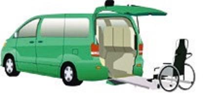 (図3)車いす移動車(スロープタイプ)
