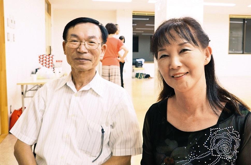 小矢部市 日光 他家志さん(66)・節子さん(62)