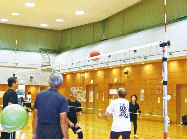 府代表チーム・市代表チームの合同練習