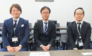 左からリブドゥコーポレーションの鍵尾幸司氏、才田要氏、西山雅之氏